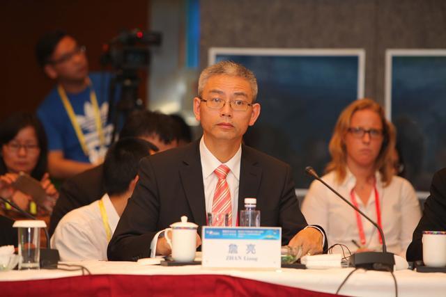 图文:环球伊比利亚传媒有限公司总裁詹亮