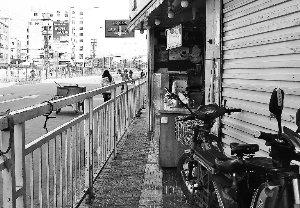 最窄人行道 高清图片