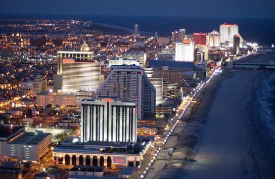 美国赌城大西洋城面临破产 博彩业连年不景气