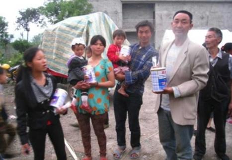 贝因美向雅安灾区火速救援 母婴食品抵达前线