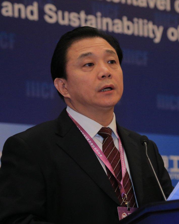中国对外承包工程商会副会长谢彪
