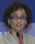 多米尼克总理办公室国务部部长Miriam Blanchard
