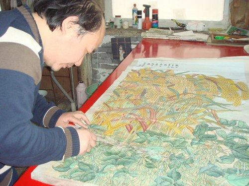 王旭 装裱是书画背后的传承记忆