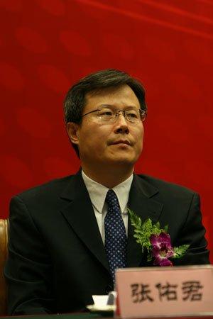 图文:北京证券业协会常务副理事长张佑君