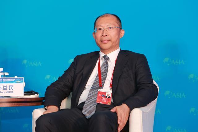 图文:平安不动产有限公司董事长兼CEO邹益民