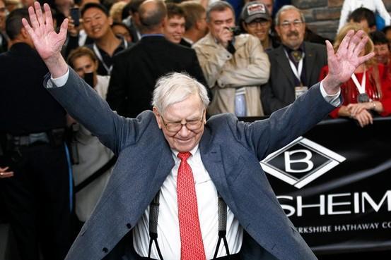 巴菲特:美股并无很大泡沫