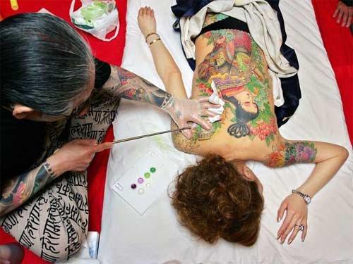 这个展示旨在介绍纹身艺术的历史与文化基础图片