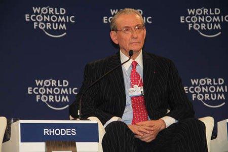 图文:世界经济论坛美国分部拉美事务顾问Rhodes