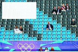 赠票遭弃  奥运赛场空荡荡