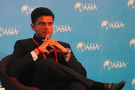 图文:印度企业事务部长Sachin PILOT