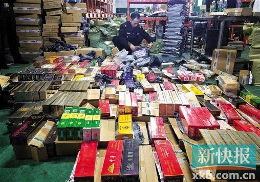 圆通快递点被曝承运5000条假烟 占仓库包裹总量80%