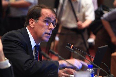 图文:巴西应用经济研究所所长马尔希奥-波克曼