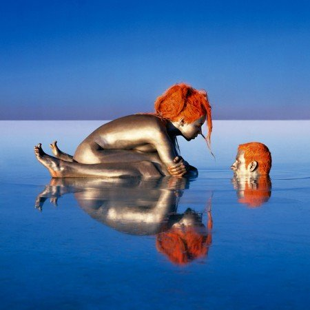 自然人体艺术美国摄影师的&quot天人合一&quot