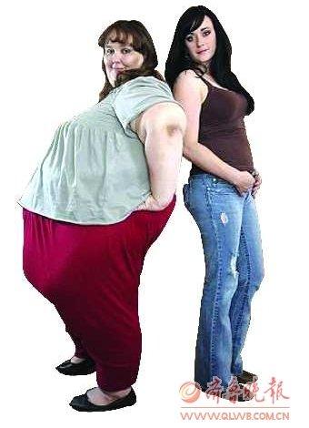 世界最胖美女体重达660斤