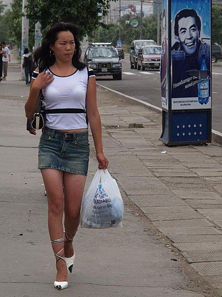 蒙古国美女组合