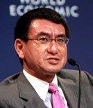 日本自由民主党代理秘书长Taro Kono