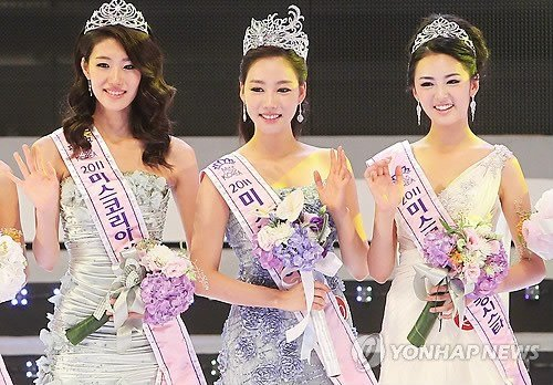 2011韩国小姐出炉 清新脱俗让人眼前一亮(图)