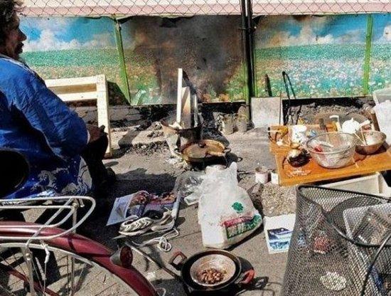 楼市泡沫破灭后的日本:房奴睡街头
