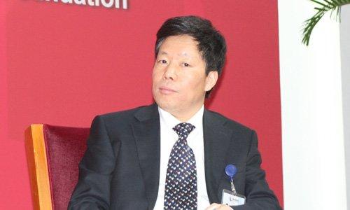 图文:国务院研究室主任韩文秀