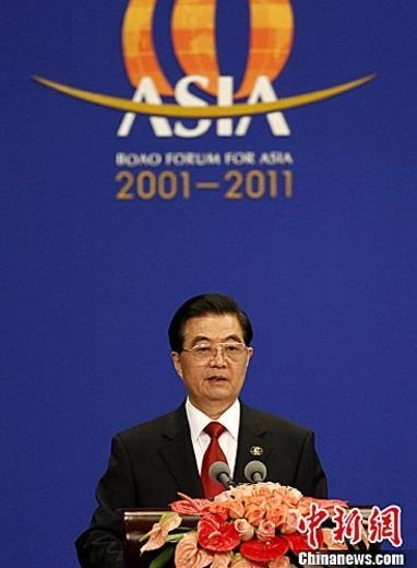 胡锦涛:未来5年将着力扩大内需