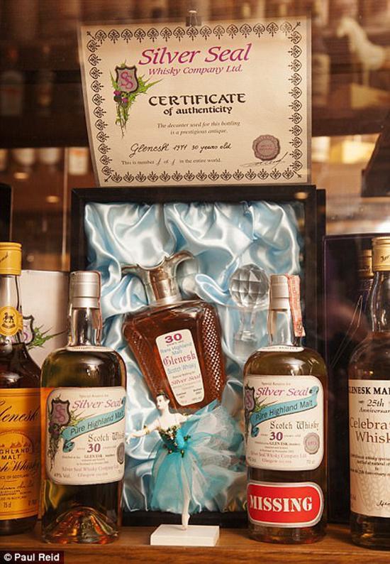 苏格兰一家酒店打破威士忌收藏吉尼斯记录