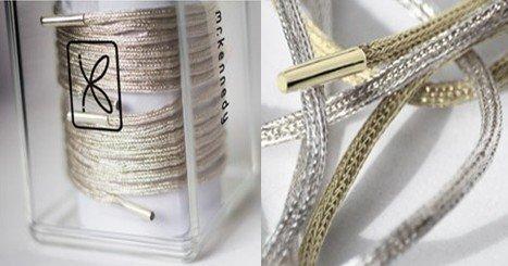 设计师打造24K纯金天价鞋带 被评太过奢侈(图)
