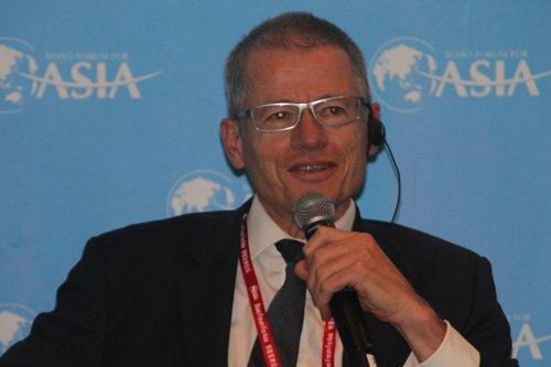图文:毕马威全球副董事长Alan Buckle