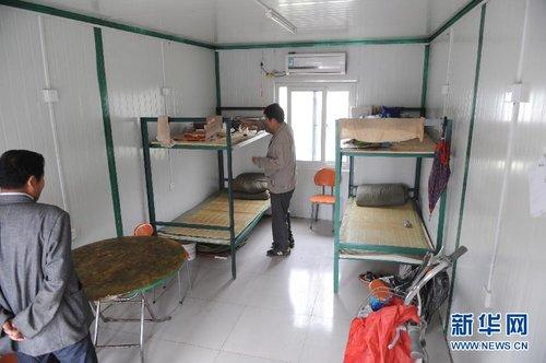 郑州市区出现集装箱宿舍日家具6元(图)ps换给租金怎么颜色