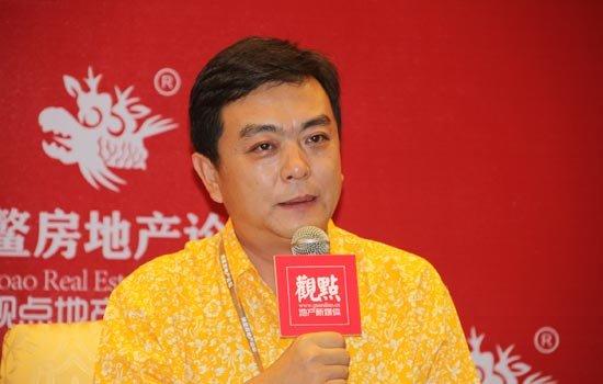 图文:深圳世联地产顾问股份公司董事长陈劲松