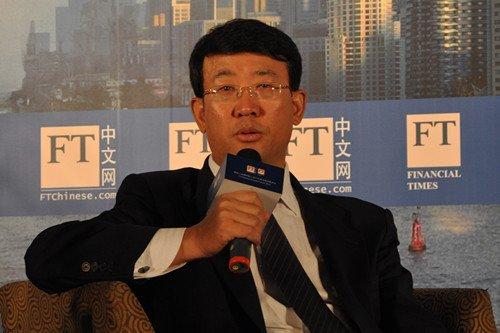 图文:农行私人银行部总经理周宏亮