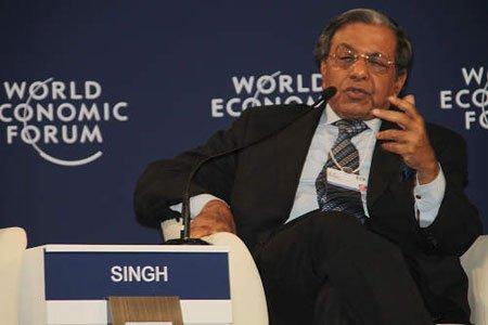 图文:印度议会成员N. K. Singh