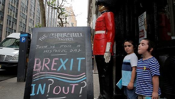 """英国退出欧盟不容易 或支付200亿欧元""""分手费"""""""