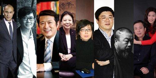 年度艺术百强权力榜上与亚洲有关的23位人物
