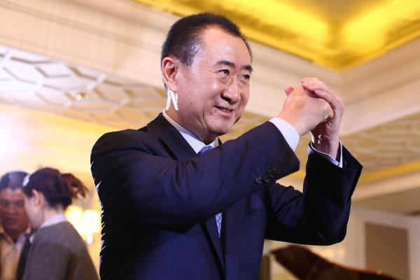 王健林已成亚洲首富。CFP 资料