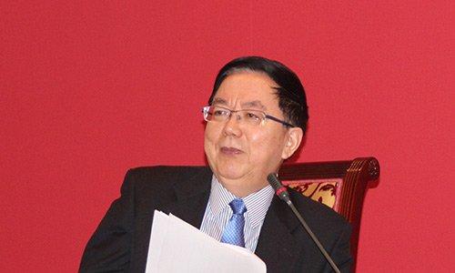 图文:中国国际金融有限公司董事长李剑阁