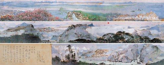 吴冠中《长江万里图》拍出1.495亿元