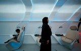 迪拜超级高铁模型:如头等舱
