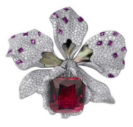 卡地亚高级珠宝系列胸针