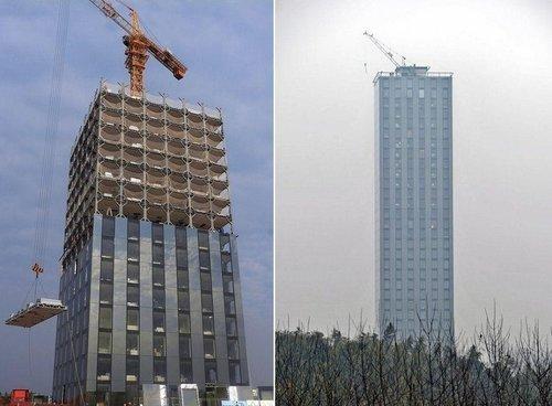 远大拟在长沙建世界第一高楼 高838米2个月建成