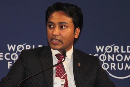 图文:印度全球解决方案公司CEO