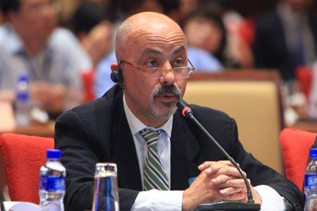 图文:意大利亚洲观察家学术委员会主席罗密欧