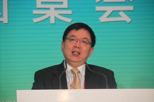 图文:中国国际金融公司董事长李剑阁