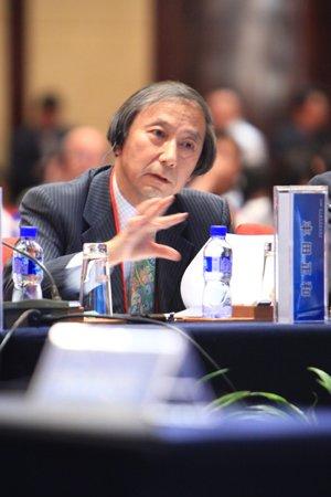 图文:日本能源经济研究所理事兼总裁丰田正和