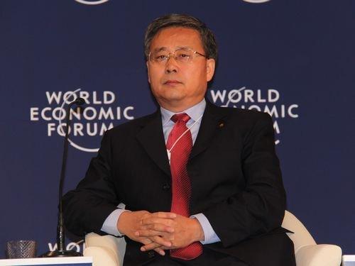 图文:中国建设银行董事长郭树清