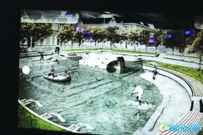 鹿特丹的水广场把人的创造力发挥到极致-上海设想建地下 水库 应对暴