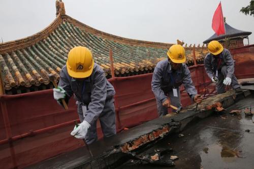 """故宫的修缮 其实是一场""""时间之战"""""""