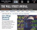 华尔街日报:美国经济前途渺茫导致股市下跌