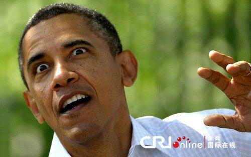 奥巴马表情前做俯卧撑表情生气(白宫)猫.组图包夸张图片