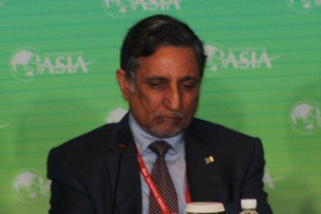 图文:沙特基础工业公司副董事长穆罕默德