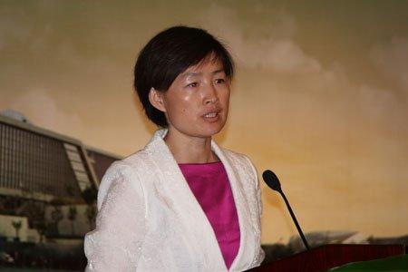 图文:气候组织大中华区总裁吴昌华
